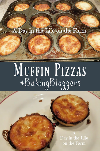 Muffin Pizzas pin