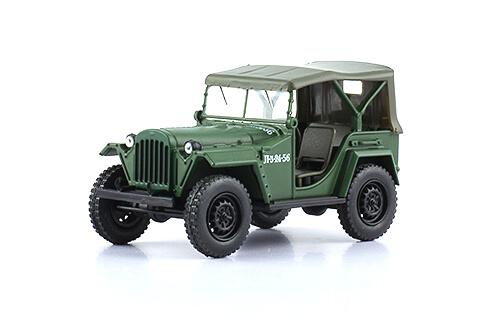GAZ-67B 1:43, voitures militaires de la seconde guerre mondiale