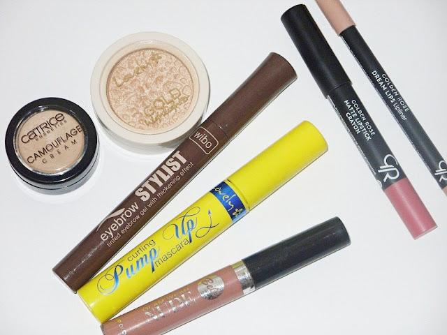 7 kosmetyków do makijażu wartych polecenia za mniej więcej 10 zł