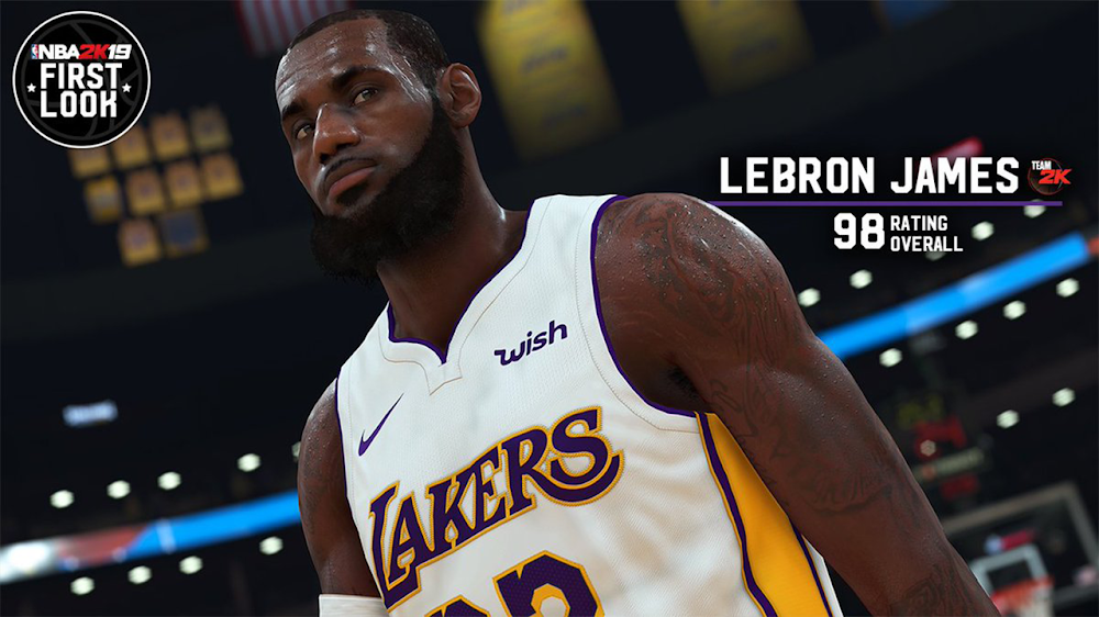 a345409b87b3 NBA 2K19  LeBron James  Player Model and Rating Revealed