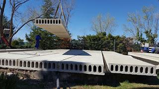 Fábrica de placas aligeradas y prefabricados de hormigón Estrucserena