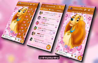 Dog Cute Theme For YOWhatsApp & Fouad WhatsApp By Nanda