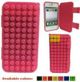 Lego type Smartphone cover