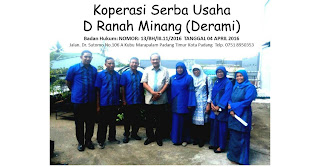Lowongan Kerja Sumbar Koperasi Serba Usaha Dewantara Ranah Minang (KSU DERAMI) Padang