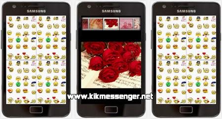 Comparte imagenes y emoticones con Stickers Love Kik