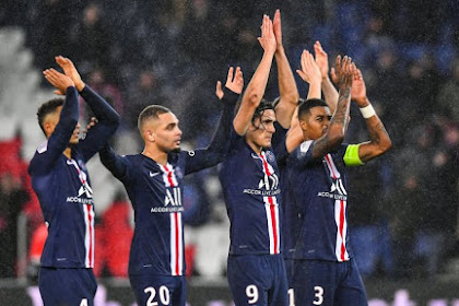 PSG vs Olympique Lyonnais , PSG Menang Dengan Score 4-2