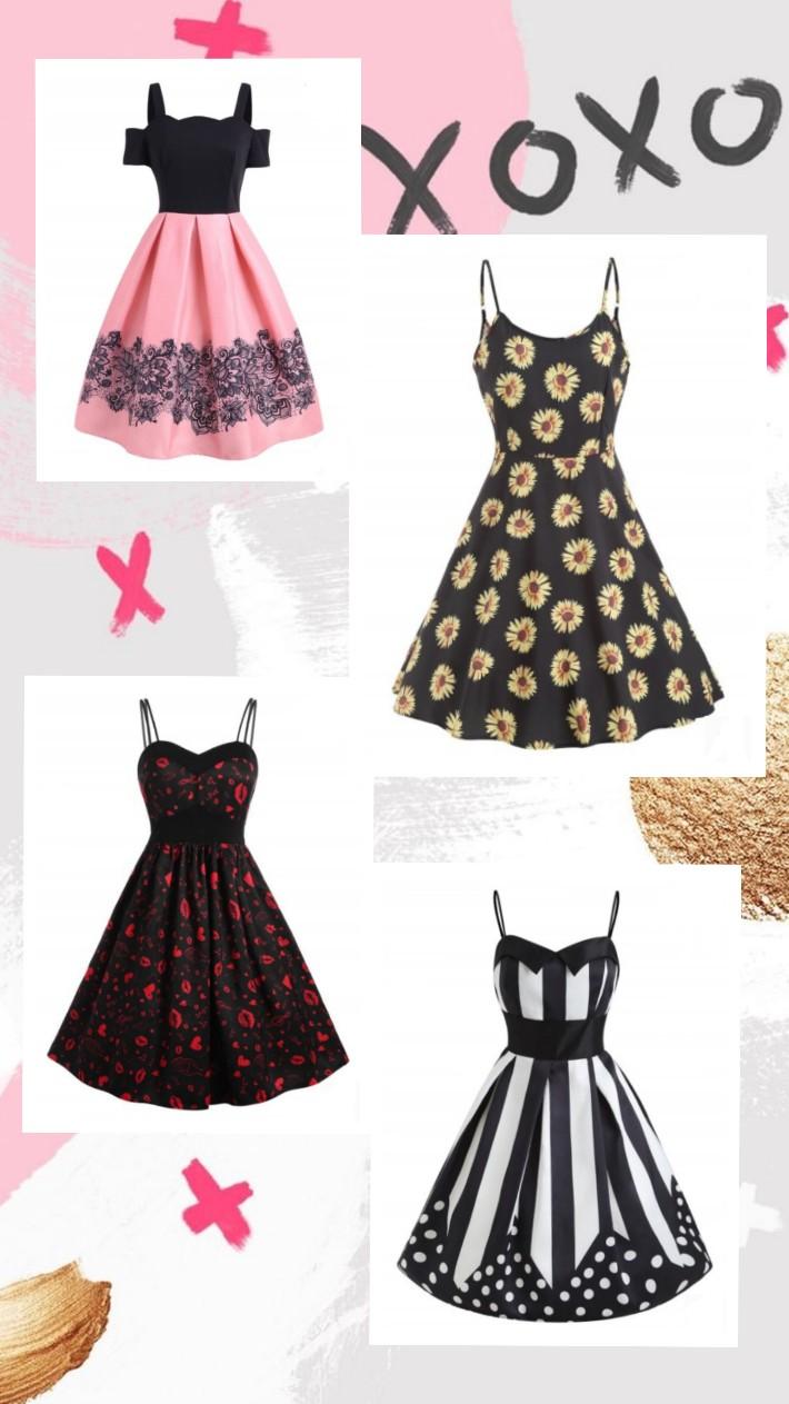 Melhores modelos de vestidos vintage na Dresslily