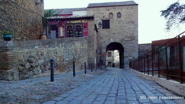 Puerta de Valmardón, ruta islámica, Toledo