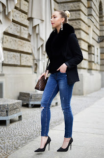 Ripped Skinny Jeans Streetstyle
