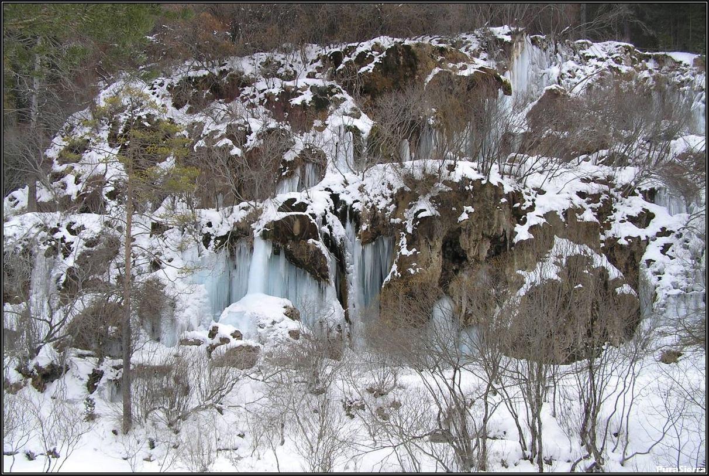 Cascadas del Nacimiento Del Río Cuervo (vista 4)