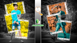 Snapseed Creative Concept Photo Editing Tutorial || New Instagram Fram Download