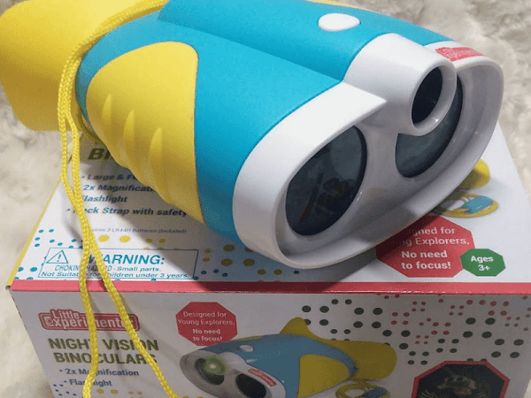 Little Experimenters Night Vision Binoculars are a Bed Time Must Have!