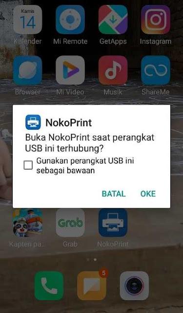 Install NokoPrint Untuk Pertama kali