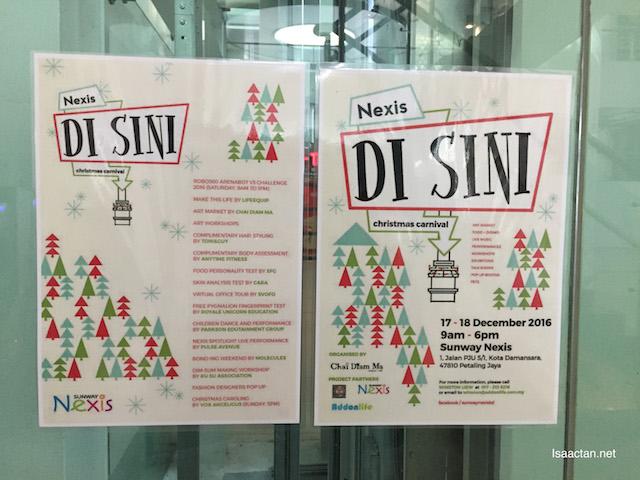 Nexis Di SINI Christmas Carnival
