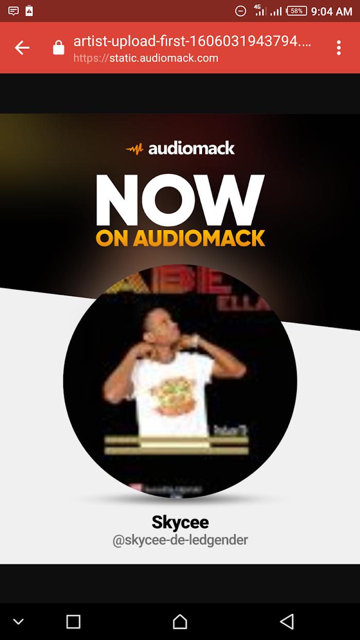 Skycee now verified by audiomack
