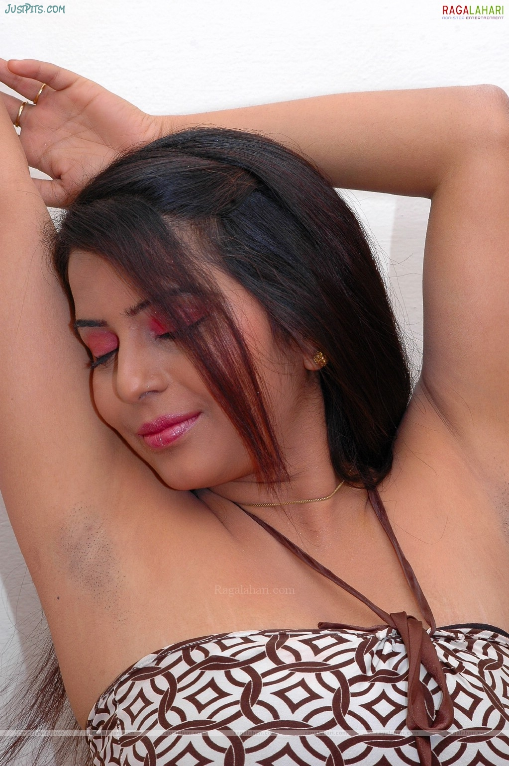 indian hairy armpits photo of girl