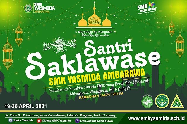 Desain Banner Photobooth Pesantren Kilat 2021 di CorelDRAW - Ramadhan Banner