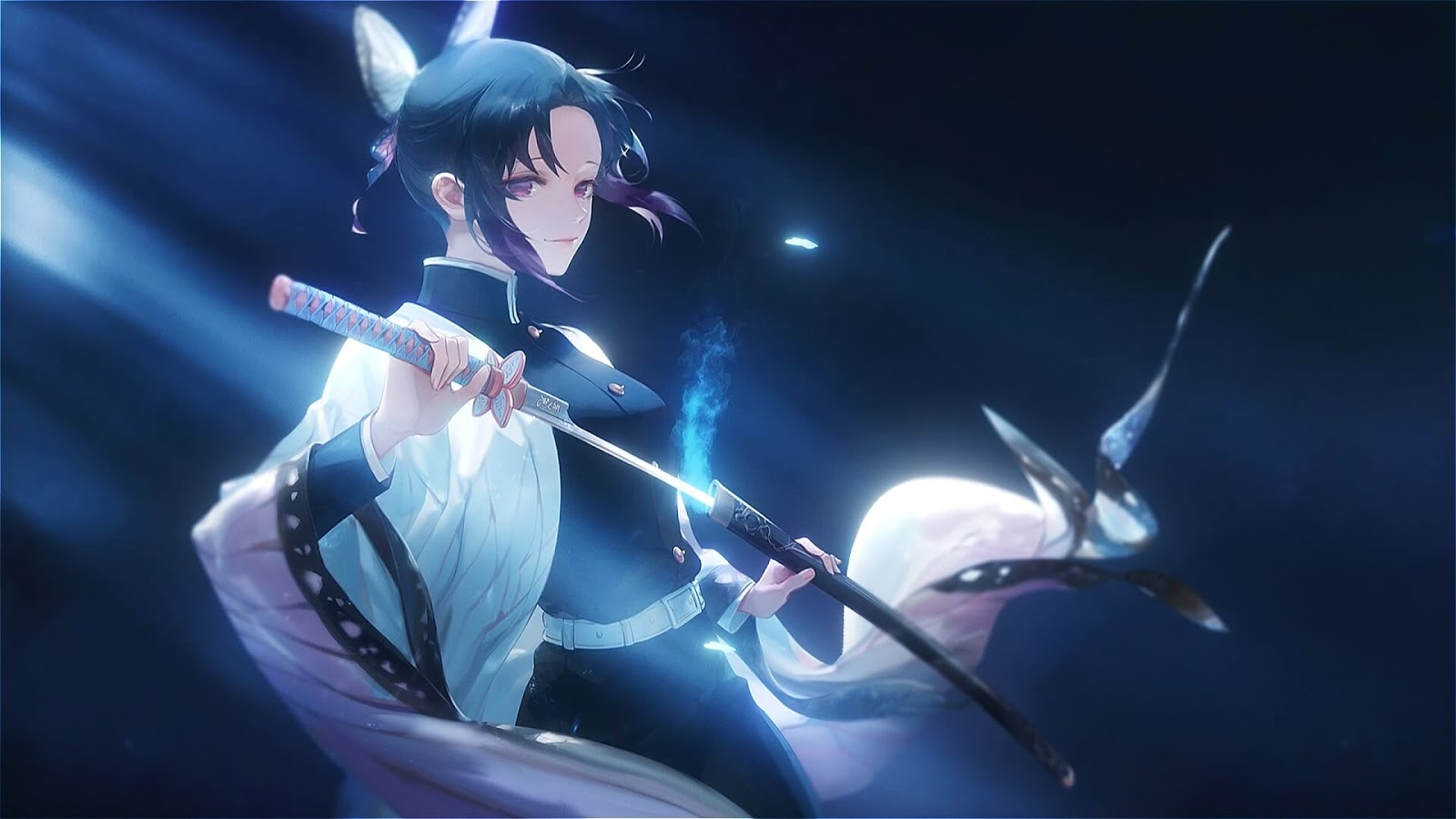 40 Gambar Wallpaper Anime Bergerak Pc Terbaru 2020 Miuiku