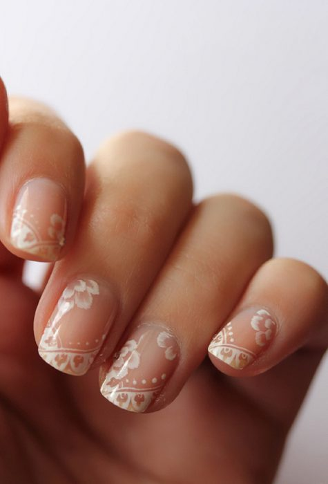 decoracion de uñas d novias