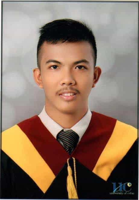 Barangay Tanod who graduated cum laude now a civil engineer