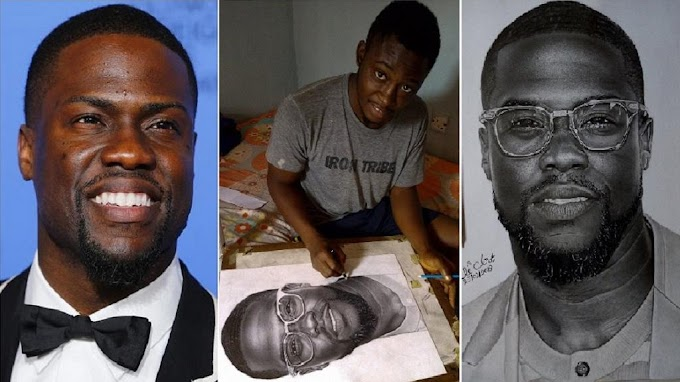 US comedian, Kevin Hart, to buy piece by Nigerian artist