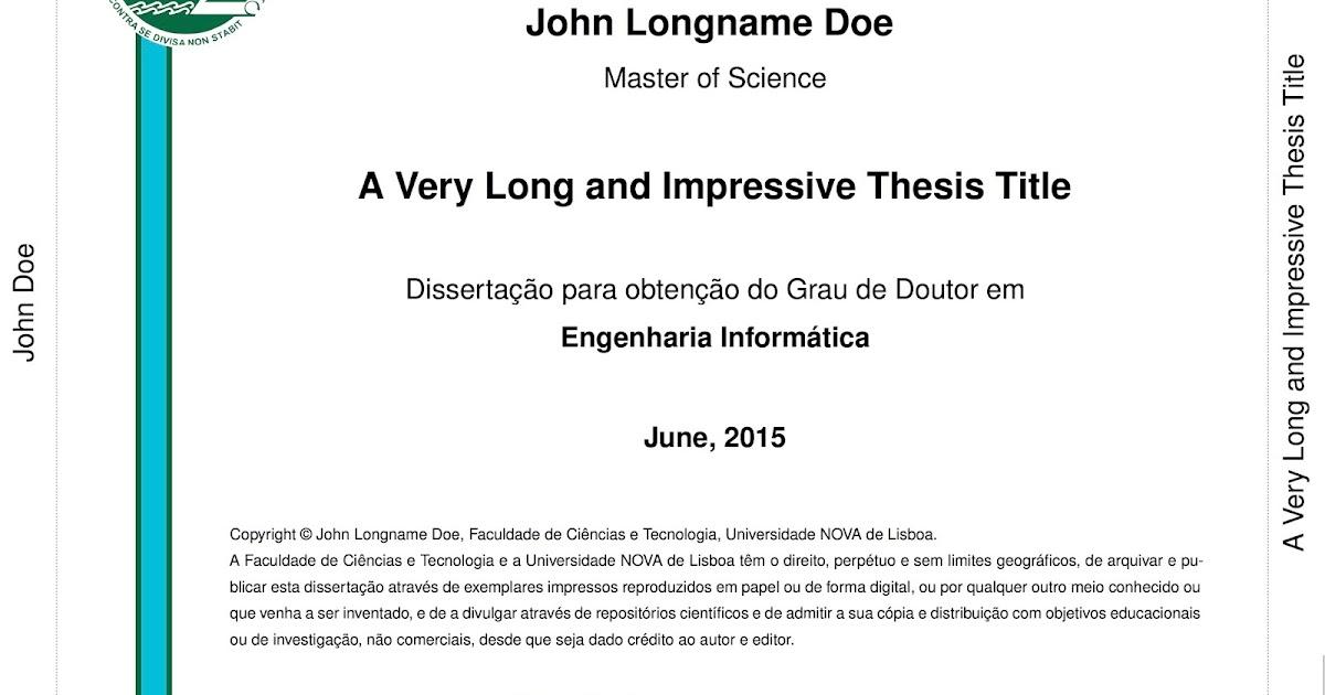 Textos dissertations exemplos