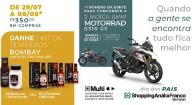 Promoção Dia dos Pais 2021 Anália Franco Shopping