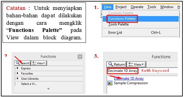 Membuat Grafik 2D di Labview 8.5