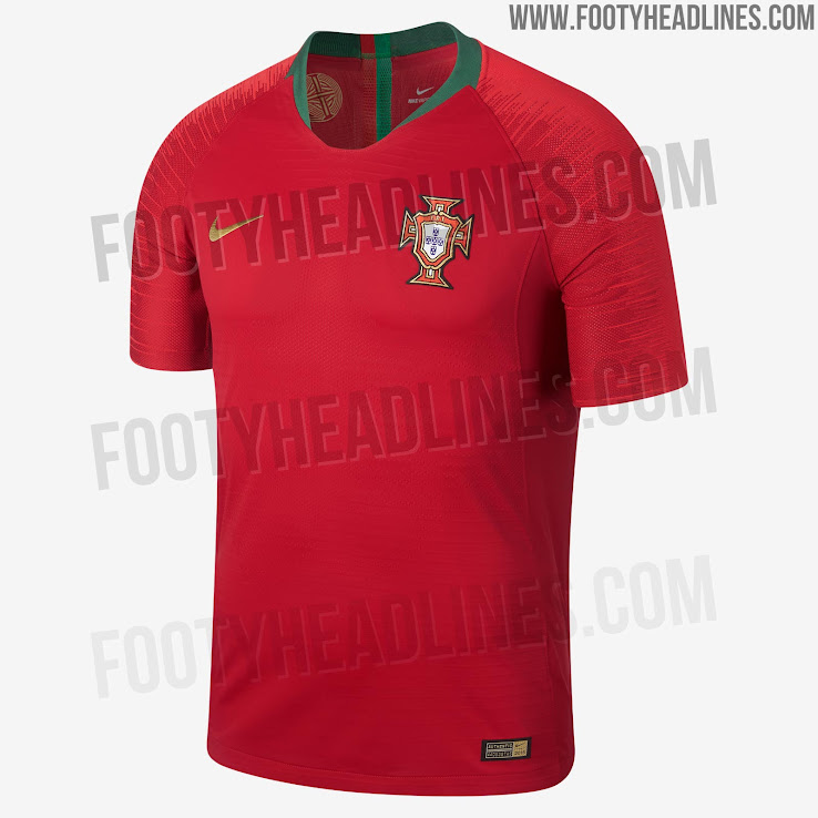 Portugal 2018 World Cup Home Kit Released - Footy Headlines