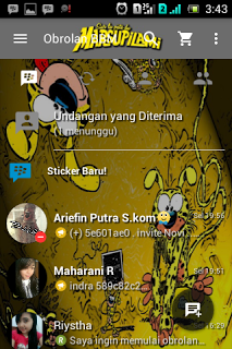 BBM Mod Marsupilami v2.13.1.14 Apk Terbaru
