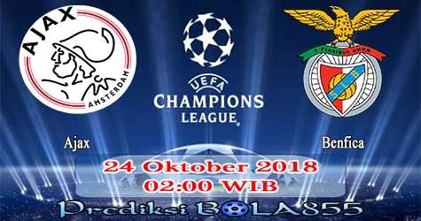 Prediksi Bola855 Ajax vs Benfica 24 Oktober 2018