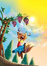 La zorra y los racimos de uva