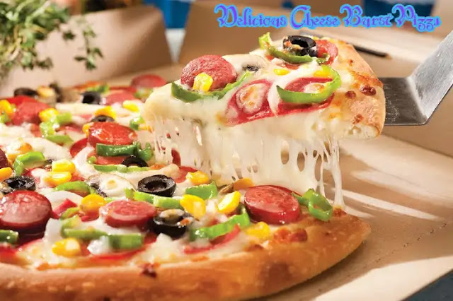 Make Delicious Cheese Burst Pizza in Cooker at Home