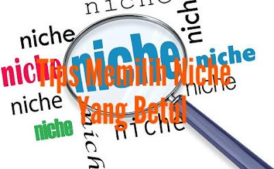 Tips Memilih Niche Blog Yang Betul
