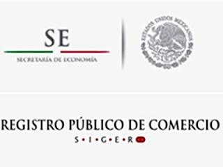 Registro Publico de Comercio