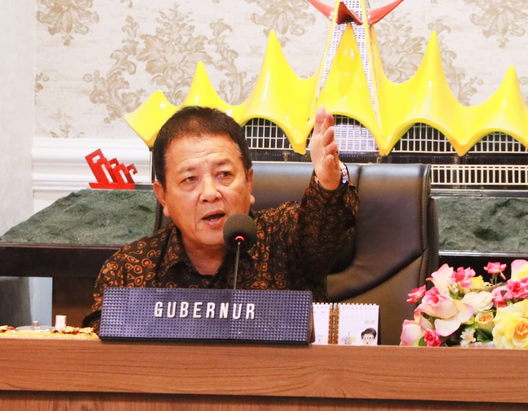 Kartu Petani Berjaya siap diluncurkan, Gubernur  Arinal pimpin langsung  rapat persiapan