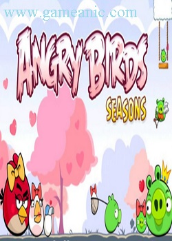 Angry Birds Seasons Back to School Game Cover