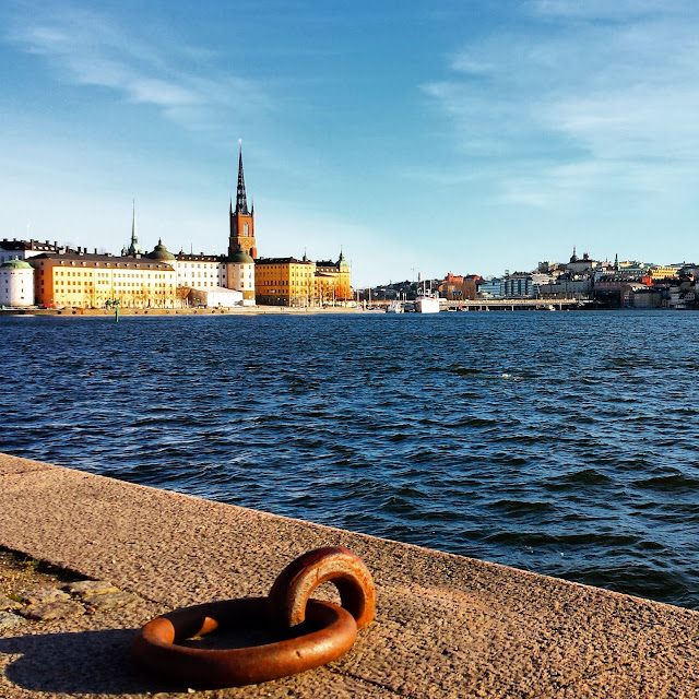 View of Gamla Stan from Norr Malarstrand, Stockholm, Sweden  |  Giving birth in Sweden: Labor, delivery, and the cost  |  http://afeatherynest.com