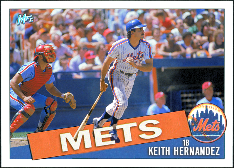 Mets Baseball Cards Like They Ought To Be Happy Birthday