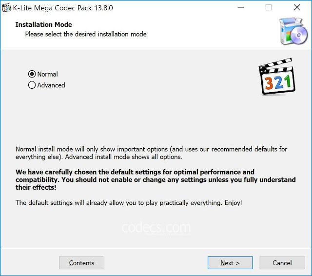 k lite mega codec pack 64 bit