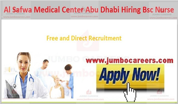 Current nursing jobs in UAE,