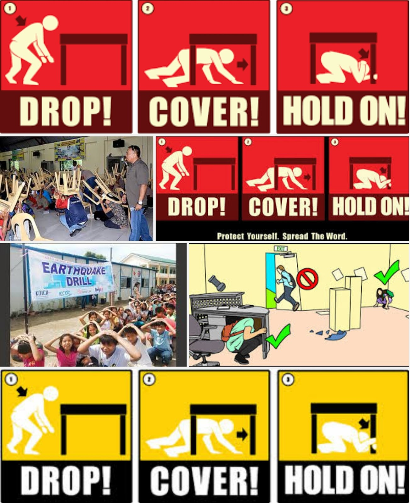 earthquake drill Since all 50 states and the district of columbia face some earthquake risk, the great shakeout earthquake drill on october 18, 2018 at 10:18 am is a good time to ensure home and business owners.