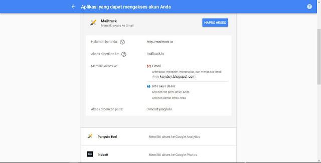 meninjau izin akses aplikasi pihak ketiga di gmail