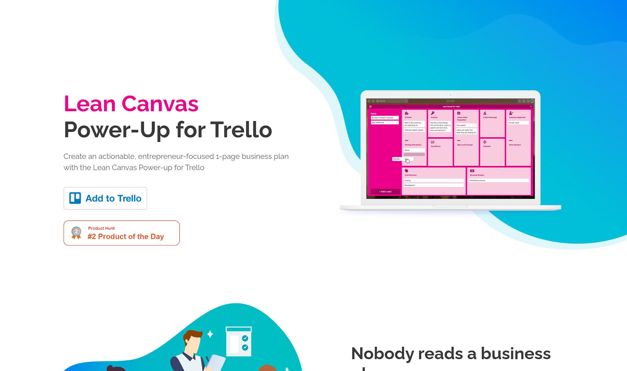 用精實畫布框架規劃 Trello 看板,協助拆解專案計畫任務