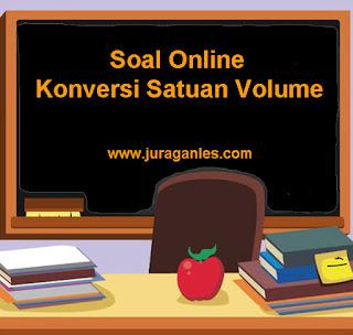 Contoh Soal Konversi Satuan Volume, Soal Matematika Online