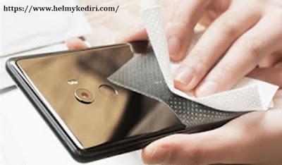 Smartphone terlalu kotor