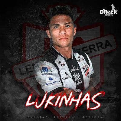 Destaque na classificação do Jaraguá, lateral Lukinhas projeta duelo contra seu ex-clube