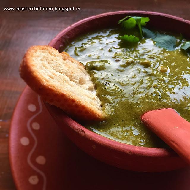 Radish Greens Soup