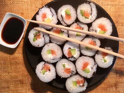 Makis de salmón con queso Philadelphia - Blog de recetas - el gastrónomo - el trobogita - ÁLvaroGP Content Manager
