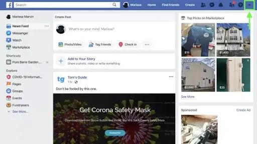 كيفية تمكين تصميم فيس بوك الجديد للكمبيوتر